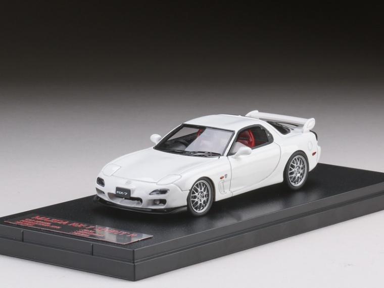 1//43 Hi-Story Modeler/'s Mazda RX-7 FD3S PROJECT D initials D MD43212